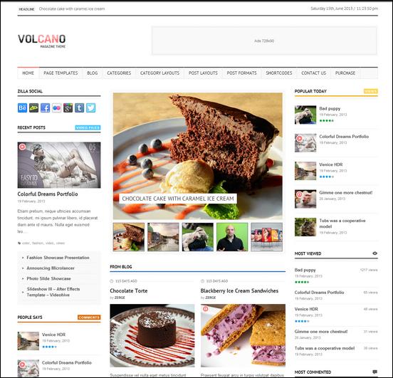 8 Excelentes Temas Premium de 3 columnas en Wordpress