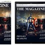 Tu página principal como portada de revista