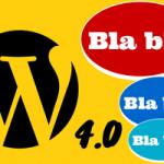 Versión 4.0 de WordPress incluirá selección de idioma