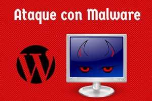 ataque malware contra wordpress