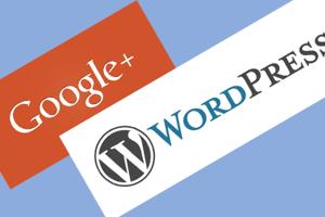 google plus wordpress