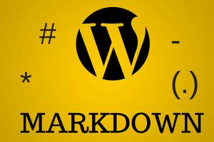markdown wordpress