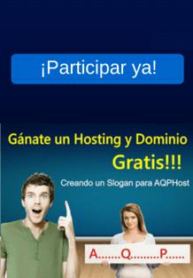 sorteo hosting dominio