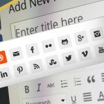 ¿Por qué no utilizar iconos de colores en la barra de herramientas de WordPress?