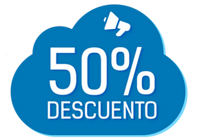 50% descuento
