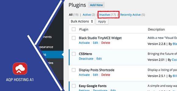 Plugins inactivos: ¿Ralentizan tu Wordpress?