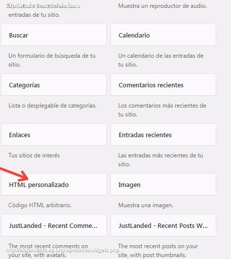 html personalizado