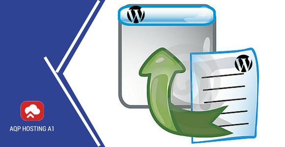 importar y exportar datos en Wordpress