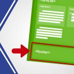 Cómo hacer un pie de página efectivo en tu sitio web con widgets