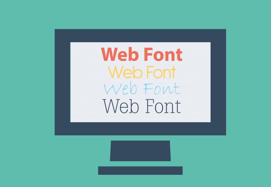 fuentes tipograficas en pagina web